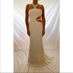 Jovani Evening Gown Brown
